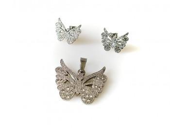 Souprava šperků ocelová 18305