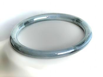Náramek šedomodrý plast 520701