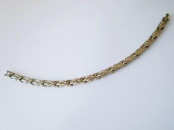Náramek magnetický z chirurgické oceli 15519