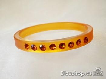 Náramek oranžový 20025