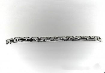 Zyta Chirurgická ocel náramek Unisex 15304