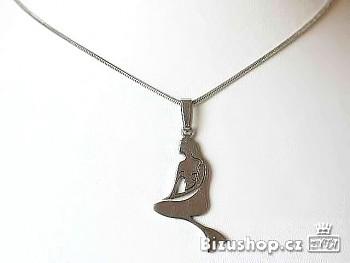 Přívěsek Chirurgická ocel Mořská panna 15049