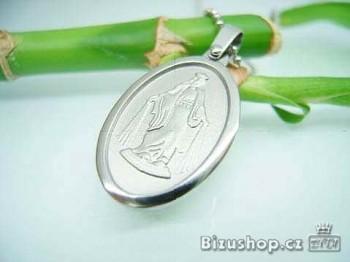 Medailonek ocelový s Ježíšem Kristem 16443