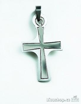 Chirurgická ocel přívěsek Kříž 15393