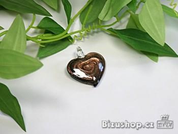 Zyta Skleněný přívěsek Srdce 2806D