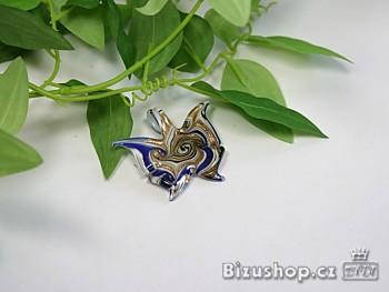 Přívěšek motýlek modrý 2804C