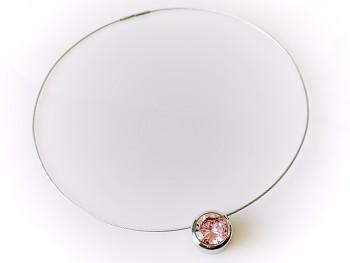Chirurgická ocel náhrdelník s přívěskem  15227