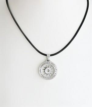 Zyta Přívěšek Ocelový kompas s růží větru 1526301 ZYTA