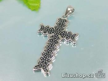 Přívěsek Křížek ocelový 17047