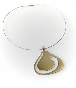 Ocelový náhrdelník 1524402