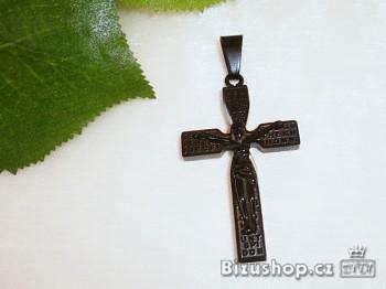 Přívěsek Kříž chirurgická ocel 17227