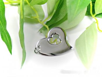 Chirurgická ocel přívěsek Srdce 15324