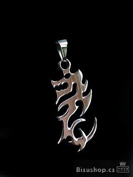 Přívěsek z chirurgické  oceli Drak 1500903