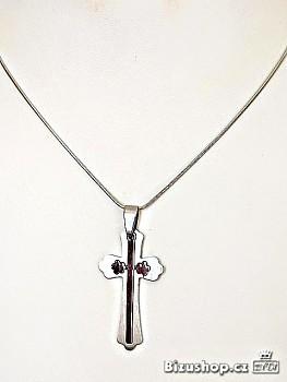 Chirurgická ocel přívěšek Kříž 1519301