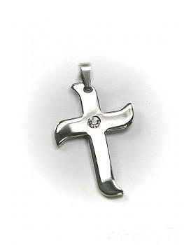 Přívěsek z chirurgické oceli kříž 1513003