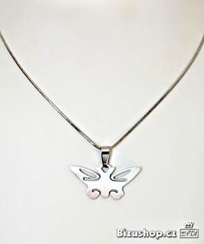 Chirurgická ocel přívěsek motýl 1519101
