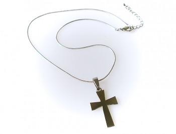 Ocelový křížek na řetízku 1539901