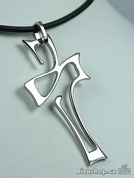 Chirurgická ocel přívěsek Kříž 1532501