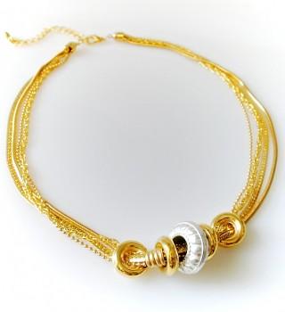 Zyta Náhrdelník zlatý 2695