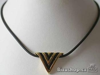Zyta Náhrdelník s trojúhelníkovým přívěškem 6007