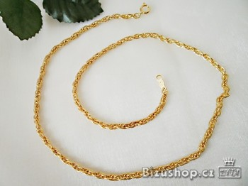 Zyta Řetízek bižuterní zlatý 016 E