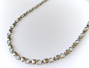 Magnetický náhrdelník z chirurgické oceli 16114 Zyta