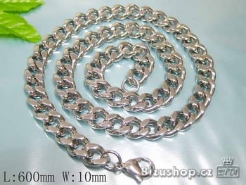Zyta řetěz z chirurgické oceli 60 cm 17310