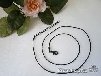 Zyta Řetízek černý 19926 Jablonecká bižuterie