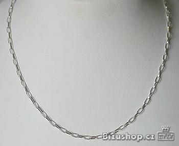 Řetízek stříbrný bižuterní 1081