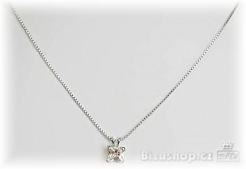 Zyta náhrdelník se zirkon kamenem  32384