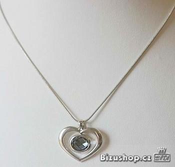 Řetízek s přívěškem srdce 795201