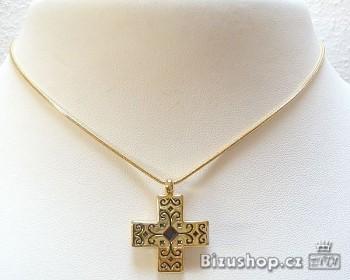 Zyta Řetízek s přívěskem křížek 6806