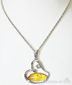 Zyta Náhrdelník  s přívěškem Srdce  268301