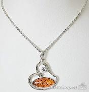 Zyta Náhrdelník  s přívěskem Srdce 268304