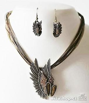 Souprava bižuterie Křídla 2440