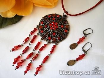Souprava náhrdelník náušnice 2869D