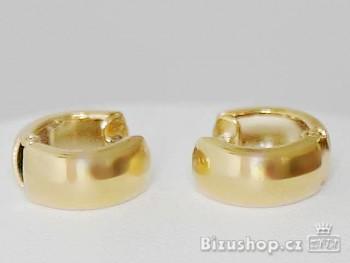 Náušnice zlaté kruhy 7865