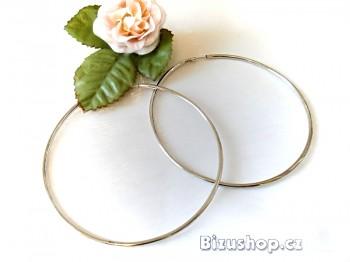 Zyta Náušnice, kruhy 7 cm velké 117