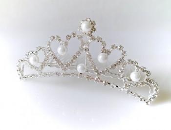 Svatební korunka Diadém 300817, Jablonecká bižuterie