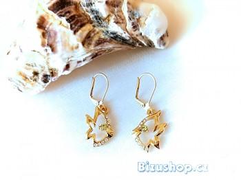 Náušnice zlaté ryby 3210101