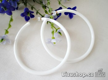 Zyta Kruhy plastové  Bílé 1044