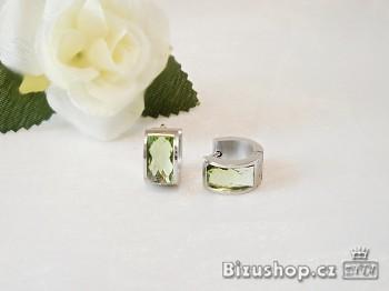 Kruhy malé z oceli zelené 17618A