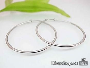 Zyta Náušnice kruhy chirugická ocel 16389