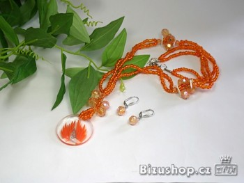 Zyta Souprava oranžová 2621