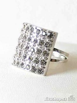 Prsten  se štras kameny Jablonecká bižuterie 3231218