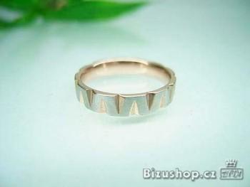Ocelový prsten 16174