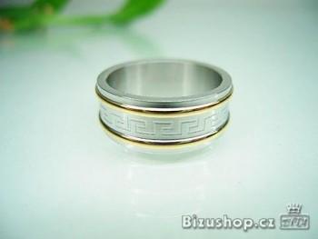 Chirurgická ocel prsten řecký klíč 1616919
