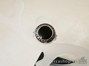 Zyta Prsten s černou vyplní 250