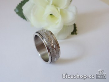 Prsten z chirurgické oceli - 1581719A
