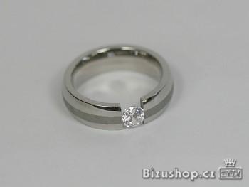 Prsten - 7808 Zirkon kamen ,velikost 57